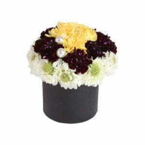 סידורי פרחים בקופסא
